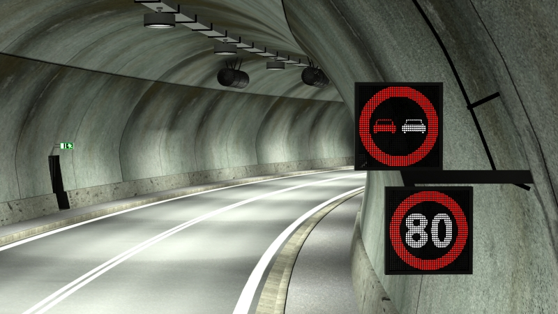 tileable road tunnel 02 3d model 3ds max fbx obj 200737