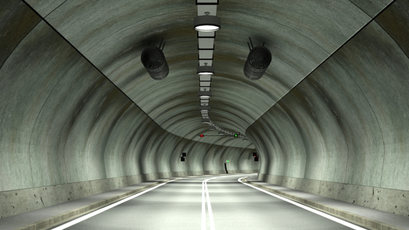 tileable road tunnel 02 3d model 3ds max fbx obj 200739