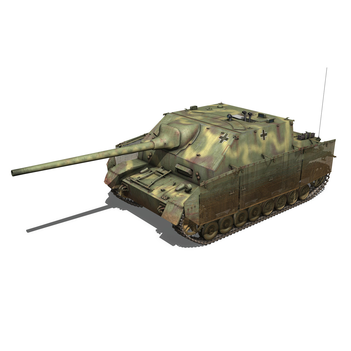 jagdpanzer iv l/70 (a) 3d model 3ds fbx c4d obj 200830