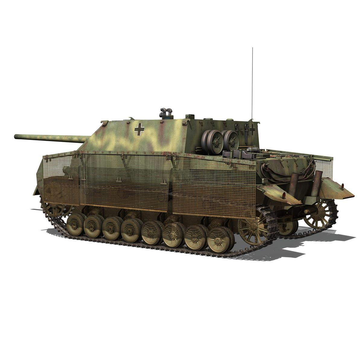 jagdpanzer iv l/70 (a) 3d model 3ds fbx c4d obj 200831