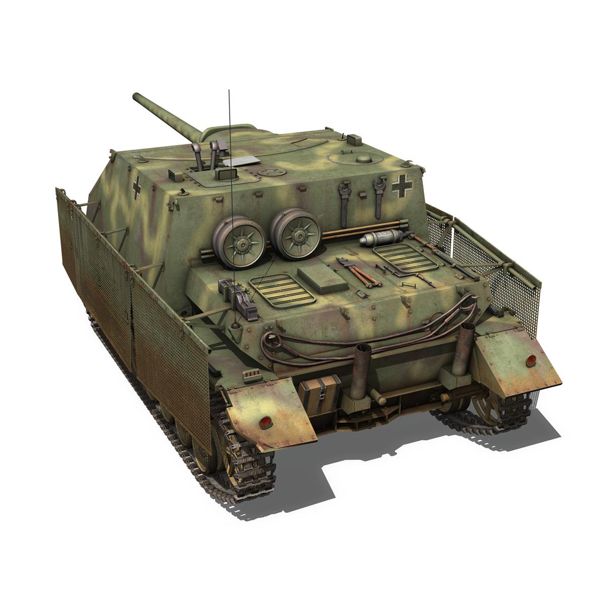 jagdpanzer iv l/70 (a) 3d model 3ds fbx c4d obj 200832