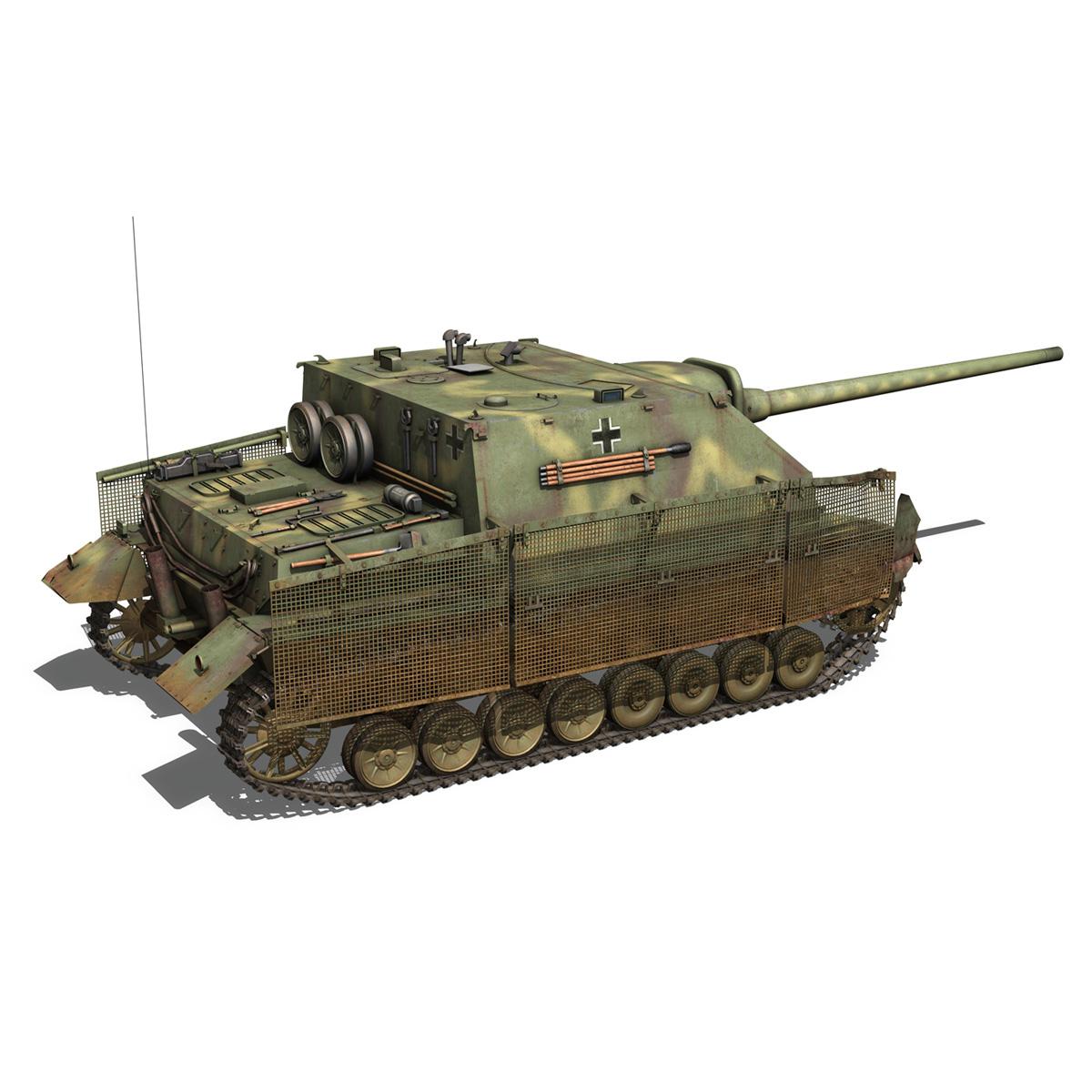 jagdpanzer iv l/70 (a) 3d model 3ds fbx c4d obj 200833