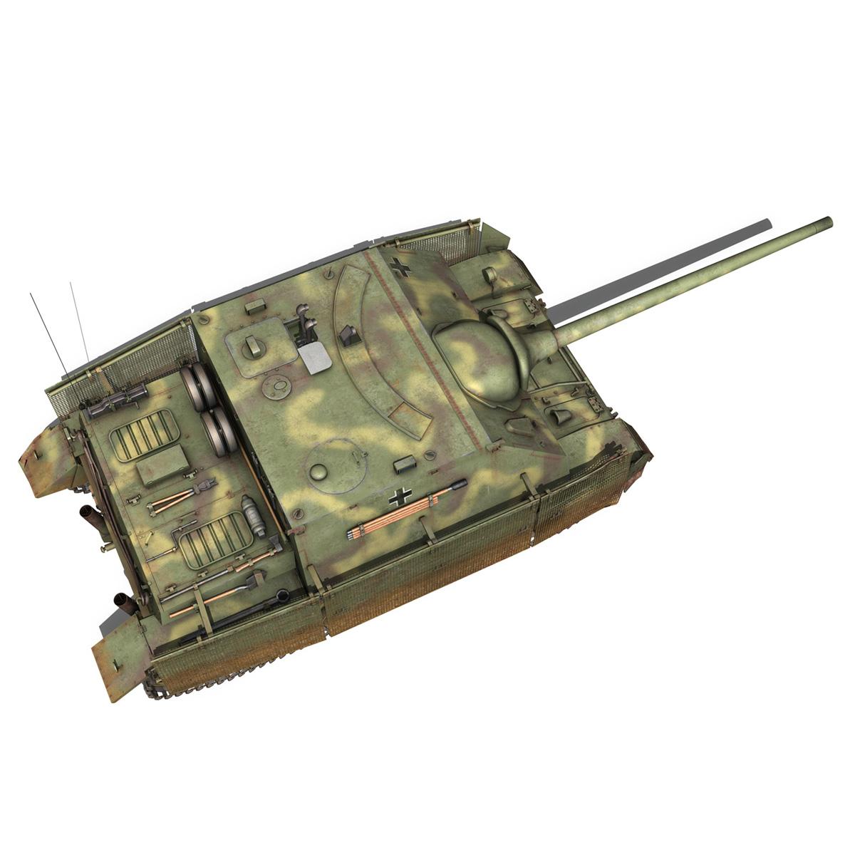 jagdpanzer iv l/70 (a) 3d model 3ds fbx c4d obj 200834