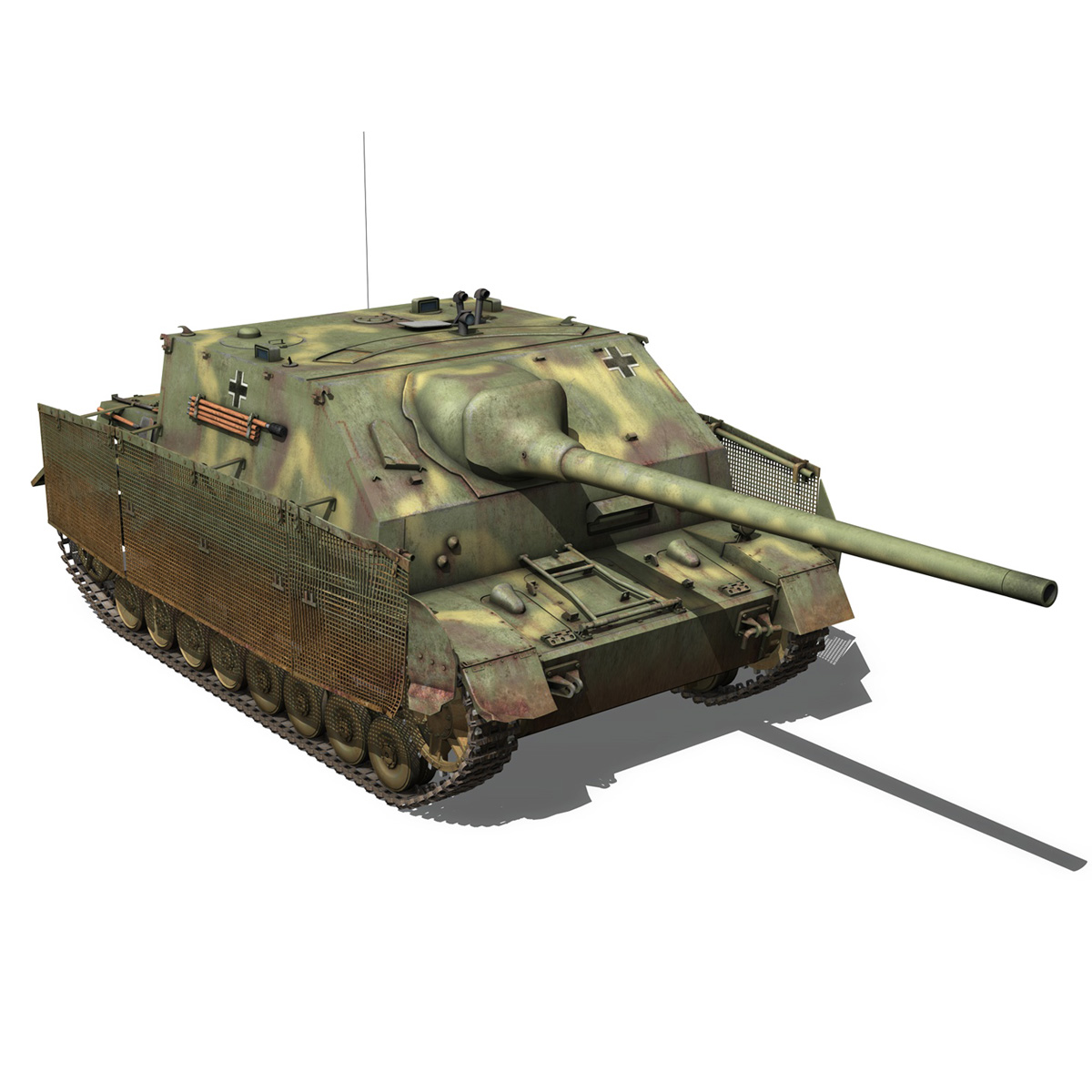 jagdpanzer iv l/70 (a) 3d model 3ds fbx c4d obj 200835