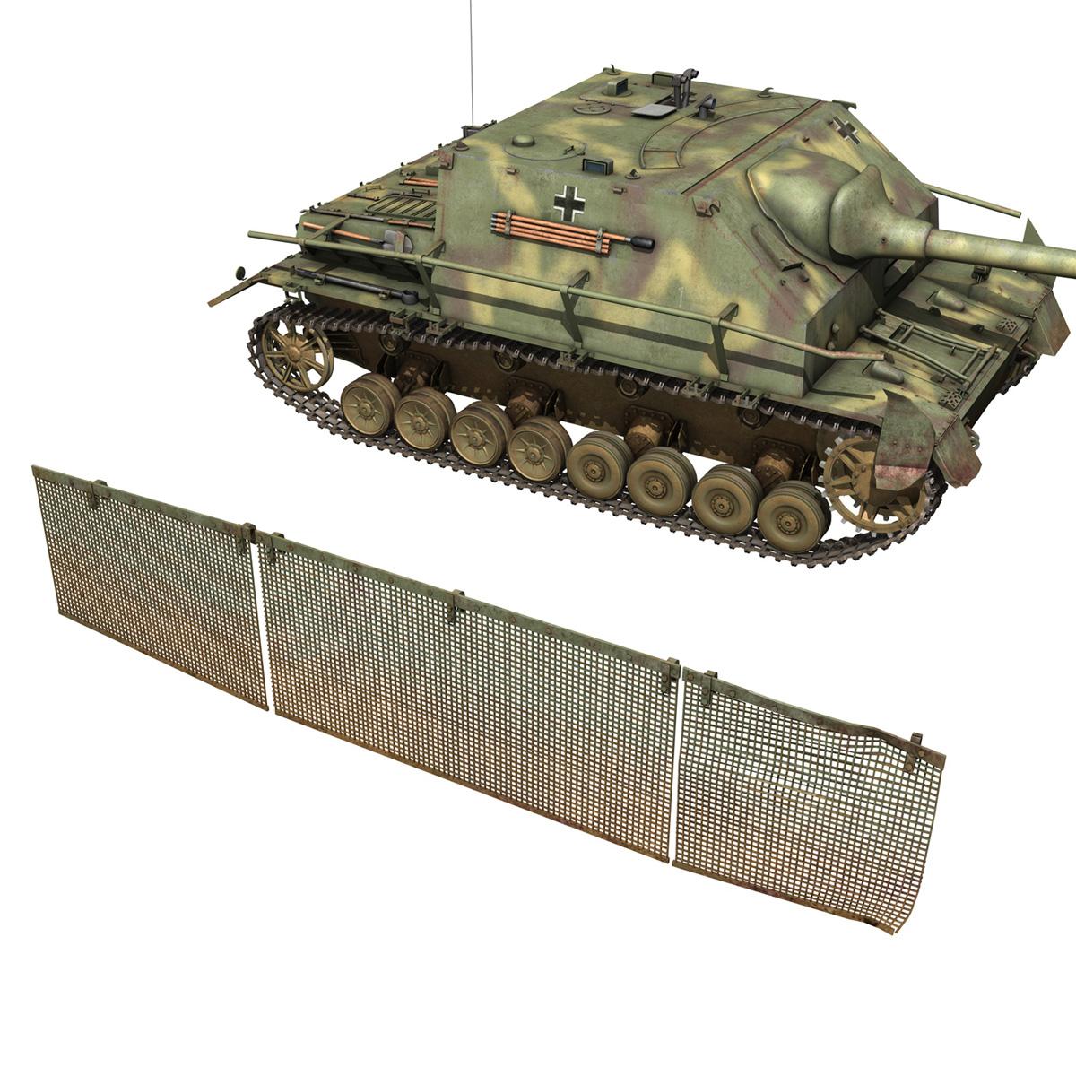 jagdpanzer iv l/70 (a) 3d model 3ds fbx c4d obj 200836