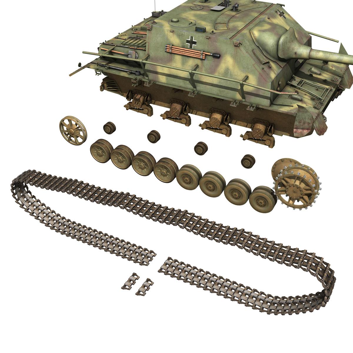 jagdpanzer iv l/70 (a) 3d model 3ds fbx c4d obj 200837
