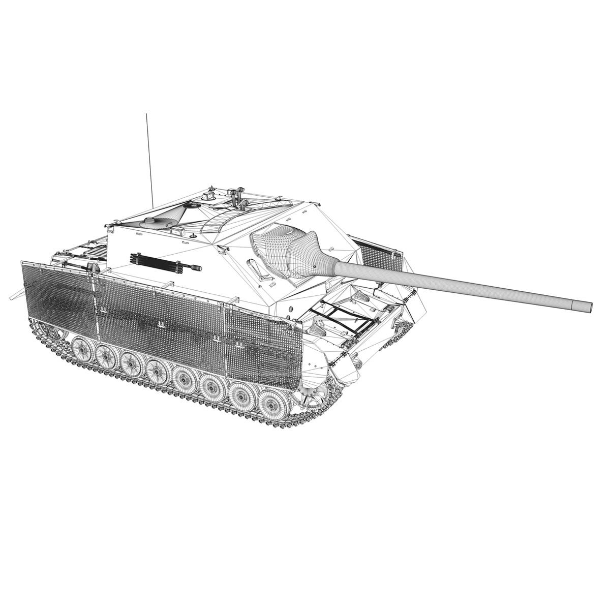 jagdpanzer iv l/70 (a) 3d model 3ds fbx c4d obj 200838