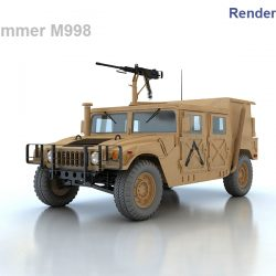 Hummer M998 ( 229.54KB jpg by S.E )