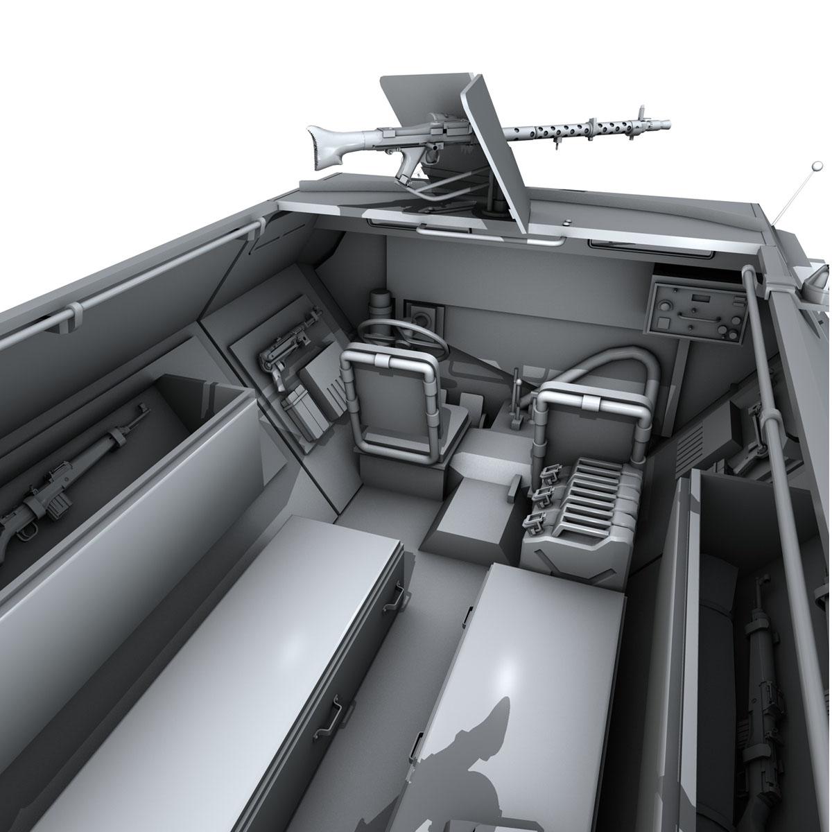 sd.kfz 251/1 ausf.c – hanomag halftruck 3d model 3ds fbx c4d lwo obj 201171