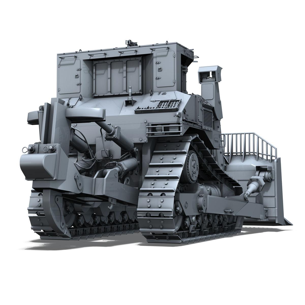 хуягт муур d9r bulldozer 3d загвар 3ds fbx c4d lwo obj 201403