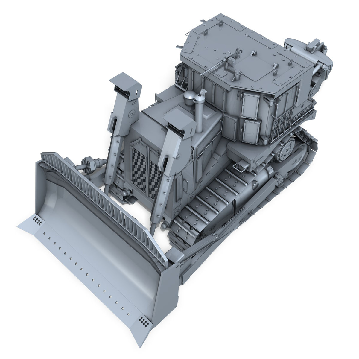 хуягт муур d9r bulldozer 3d загвар 3ds fbx c4d lwo obj 201404