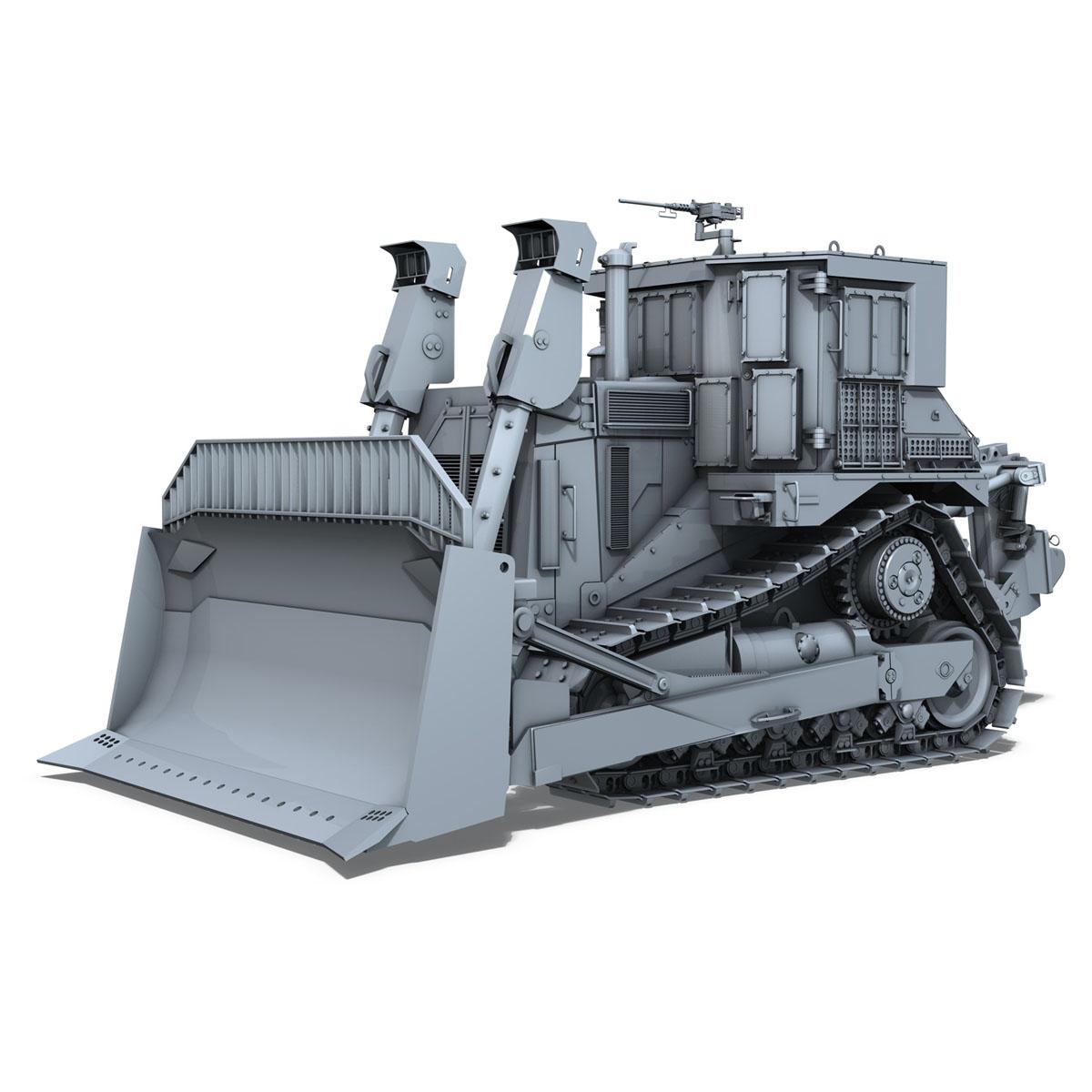 хуягт муур d9r bulldozer 3d загвар 3ds fbx c4d lwo obj 201405