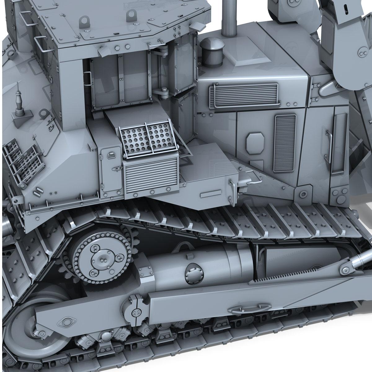 хуягт муур d9r bulldozer 3d загвар 3ds fbx c4d lwo obj 201406