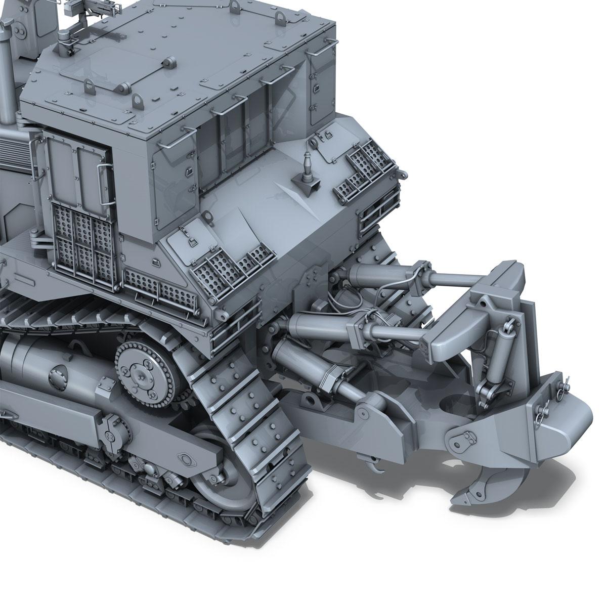 хуягт муур d9r bulldozer 3d загвар 3ds fbx c4d lwo obj 201407