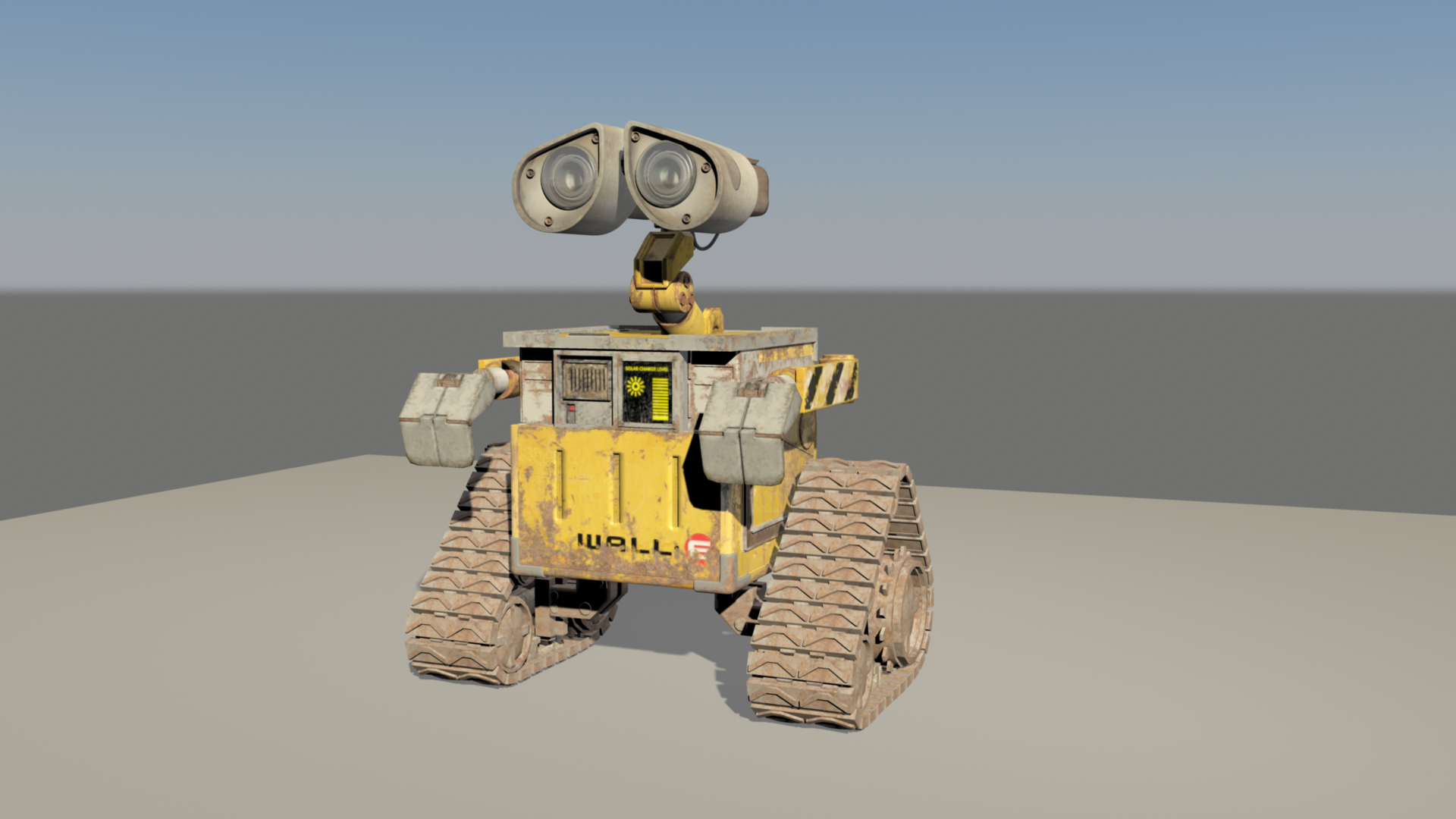 walle 3d model – buy walle 3d model | flatpyramid