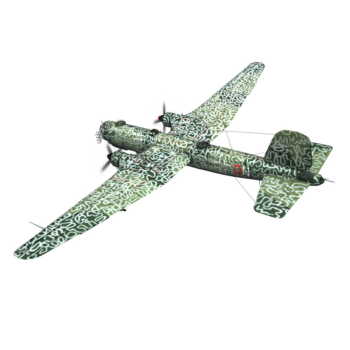 heinkel he-177 a-5 – greif – 6ndn 3d model 3ds fbx c4d lwo obj 201591