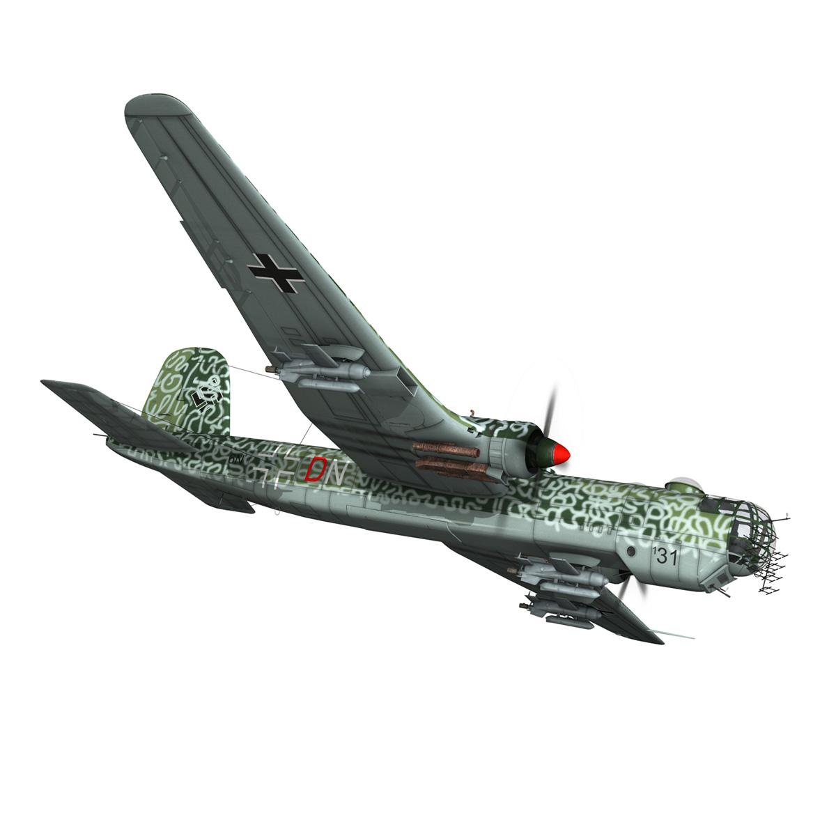 heinkel he-177 a-5 – greif – 6ndn 3d model 3ds fbx c4d lwo obj 201592