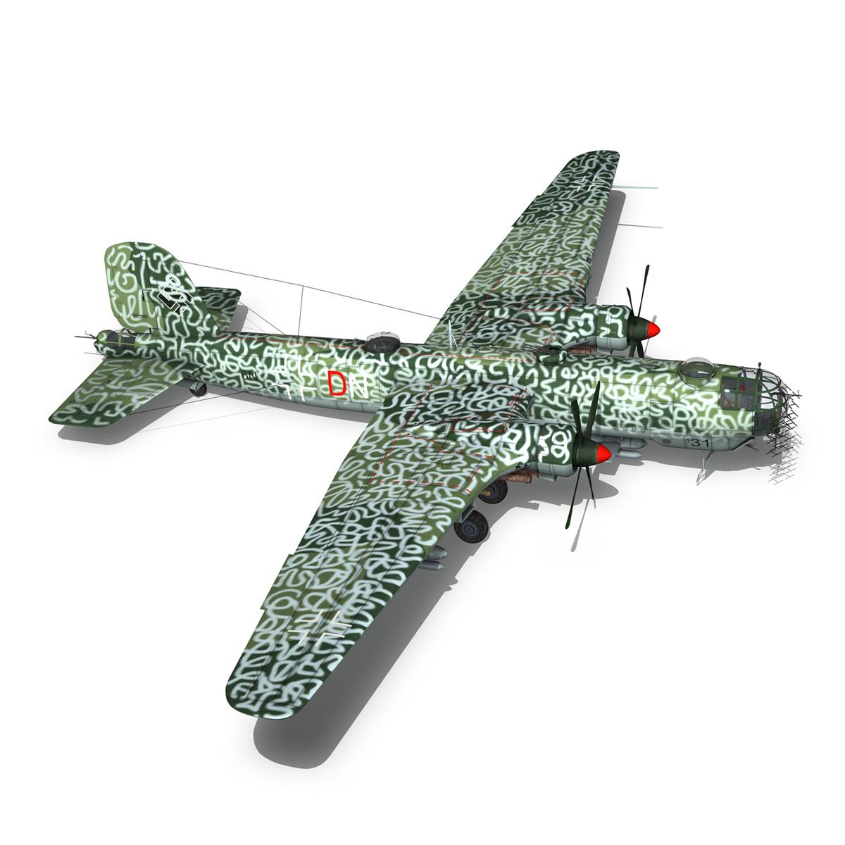 heinkel he-177 a-5 – greif – 6ndn 3d model 3ds fbx c4d lwo obj 201594