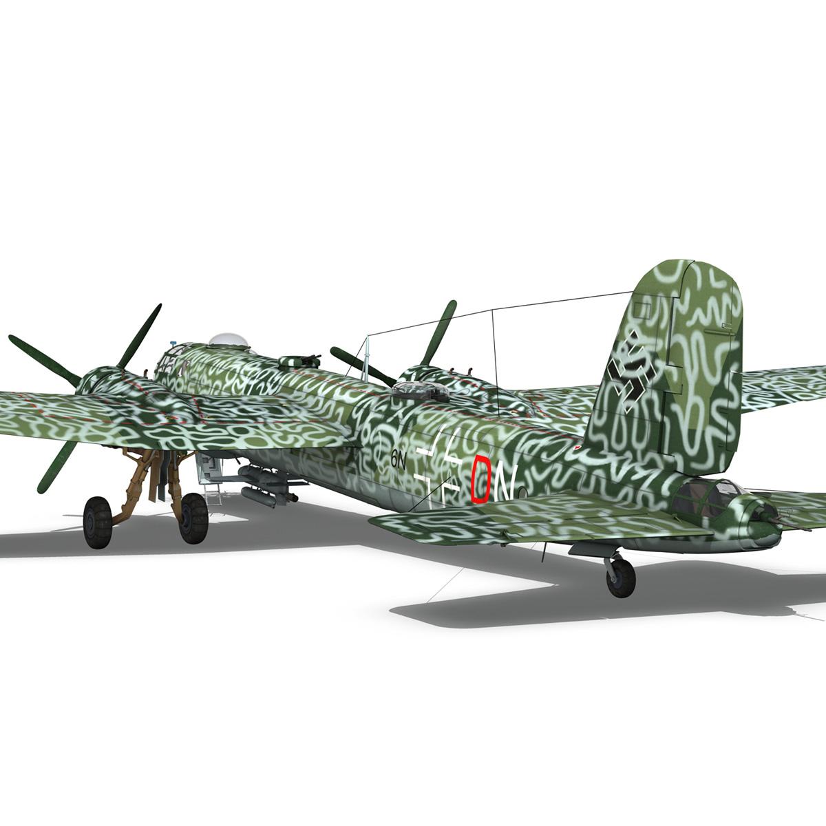 heinkel he-177 a-5 – greif – 6ndn 3d model 3ds fbx c4d lwo obj 201595
