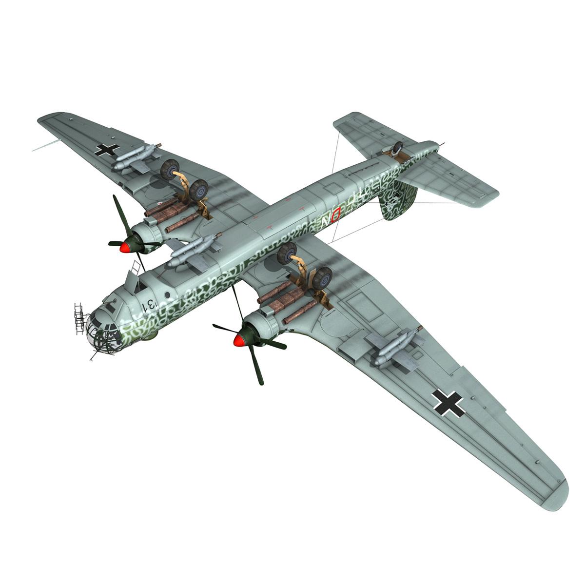 heinkel he-177 a-5 – greif – 6ndn 3d model 3ds fbx c4d lwo obj 201597