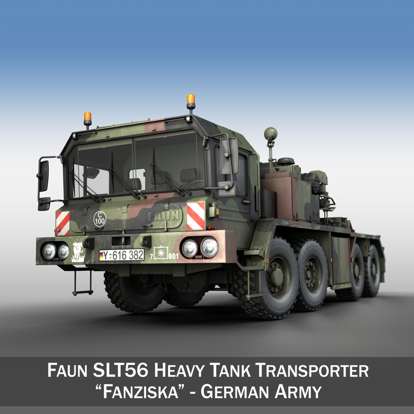 faun stl-56 transportues tank 3d model 3ds fbx c4d lwo obj 201912