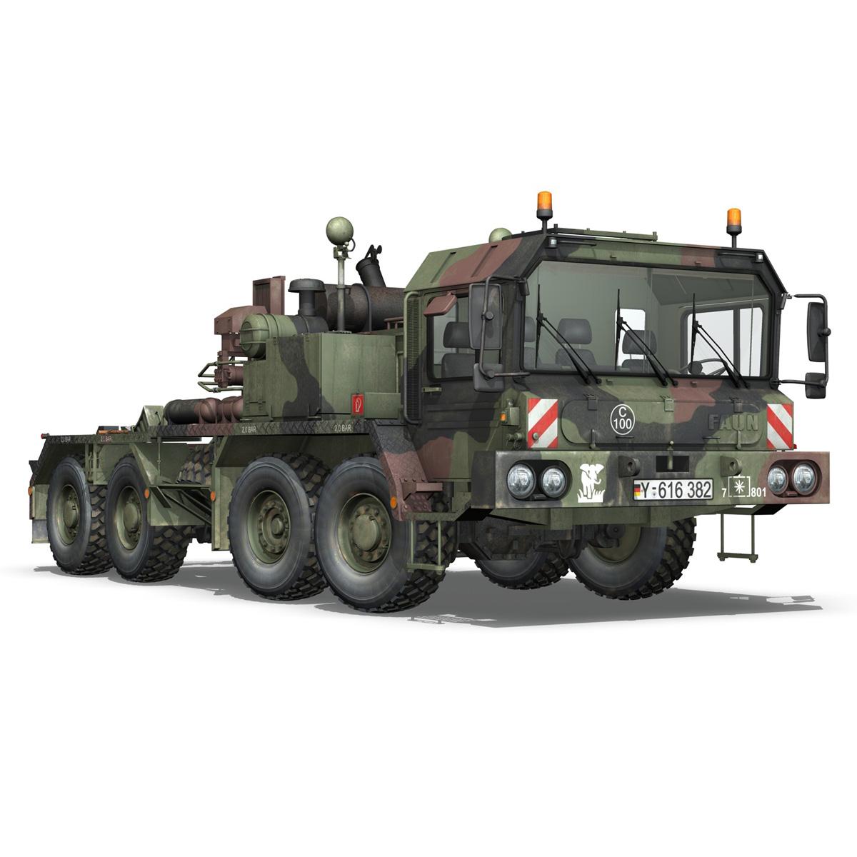faun stl-56 transportues tank 3d model 3ds fbx c4d lwo obj 201913