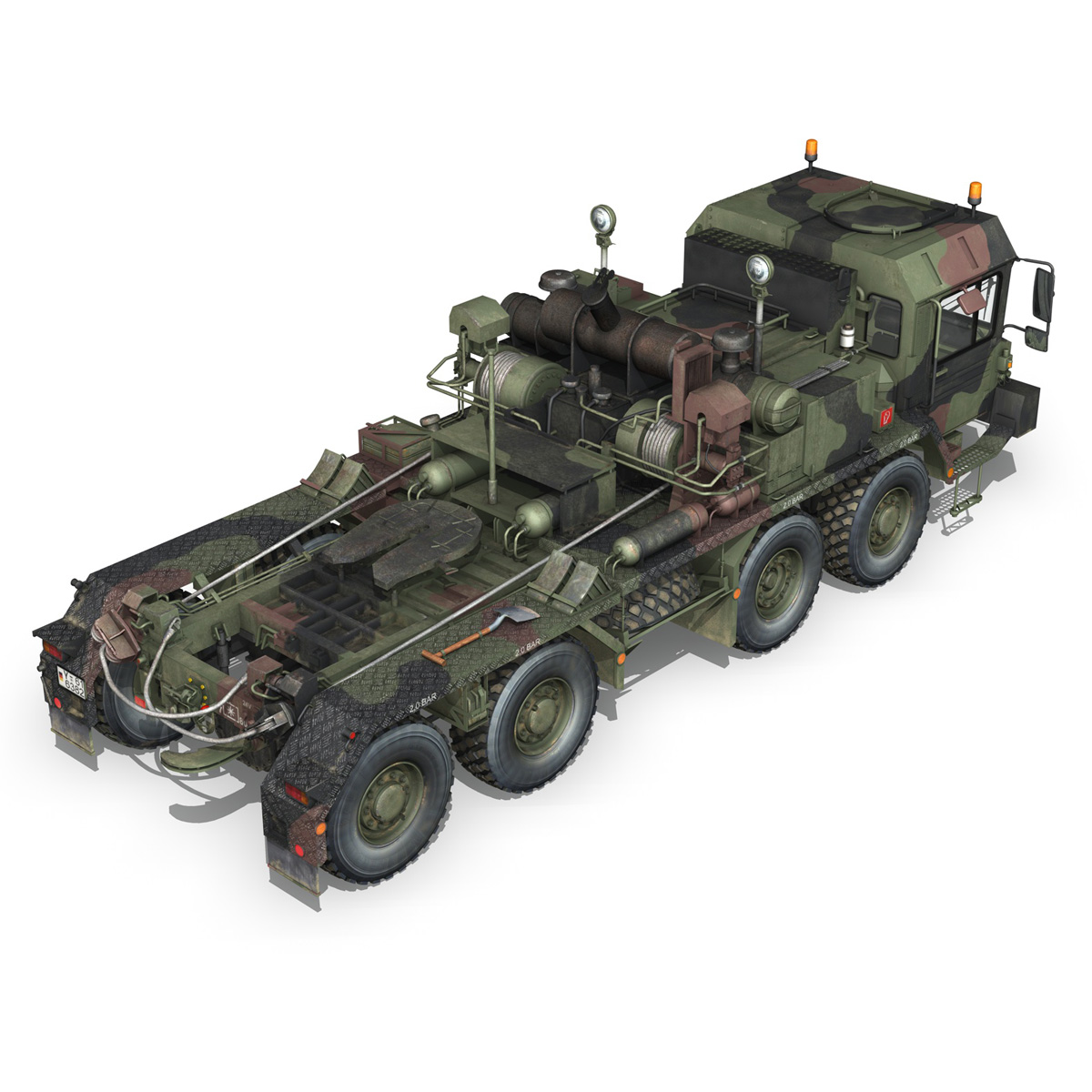 faun stl-56 transportues tank 3d model 3ds fbx c4d lwo obj 201914