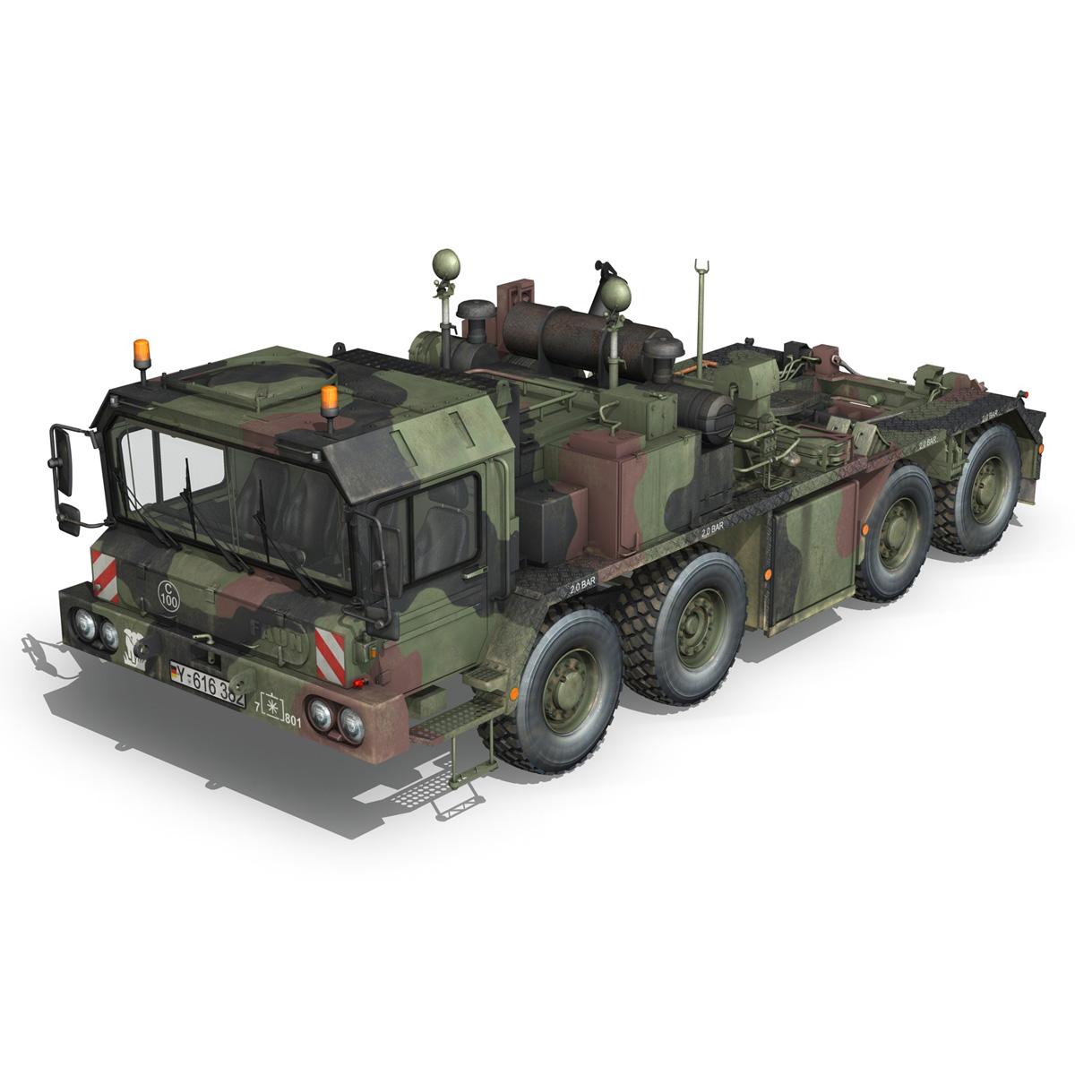 faun stl-56 transportues tank 3d model 3ds fbx c4d lwo obj 201916