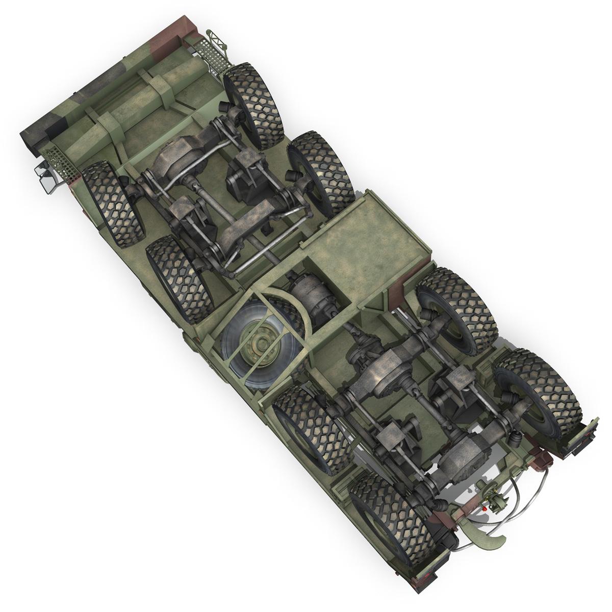 faun stl-56 transportues tank 3d model 3ds fbx c4d lwo obj 201917