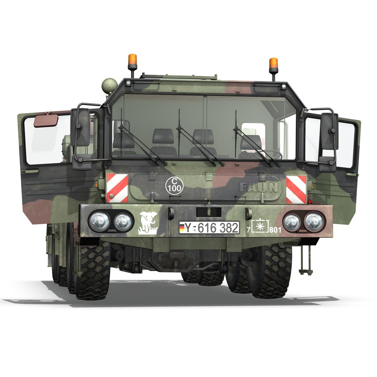 faun stl-56 transportues tank 3d model 3ds fbx c4d lwo obj 201918