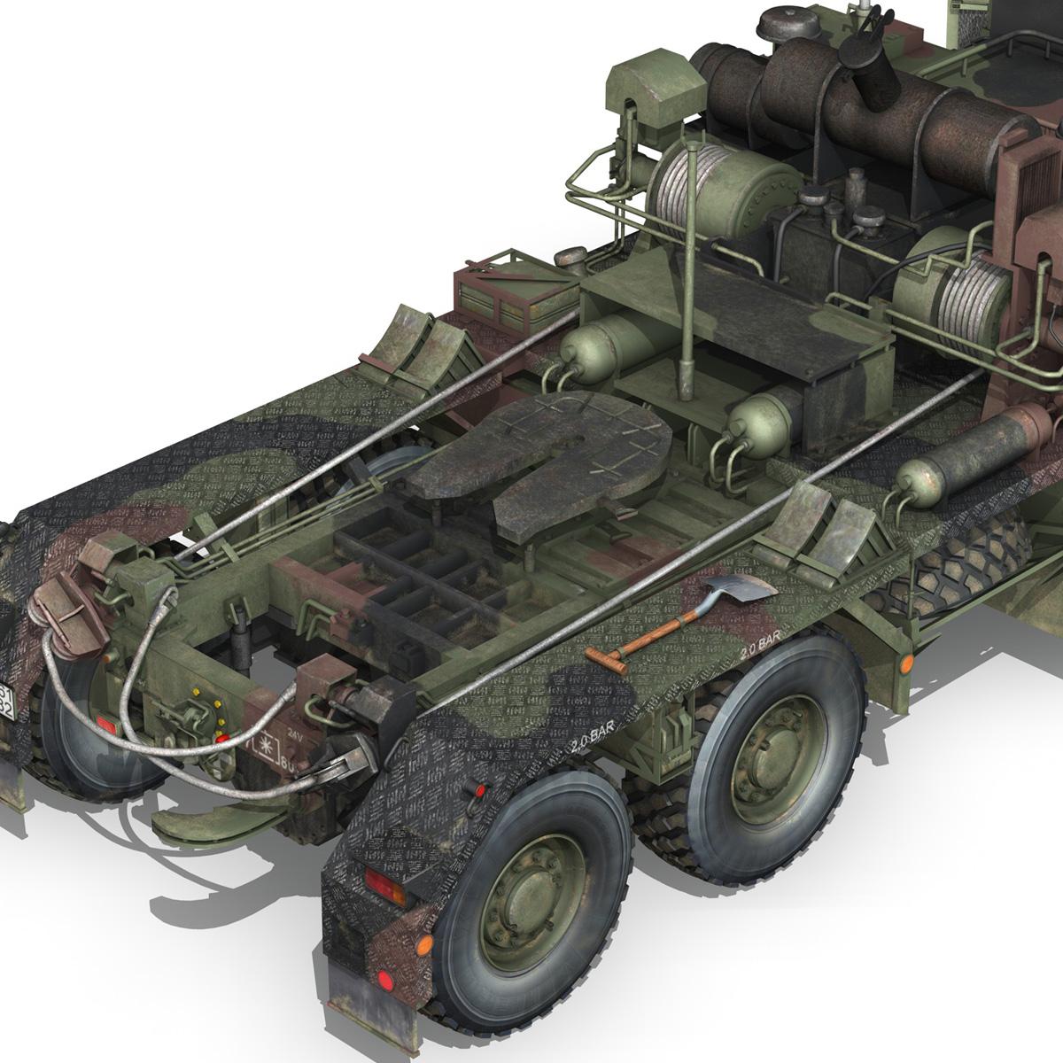 faun stl-56 transportues tank 3d model 3ds fbx c4d lwo obj 201919