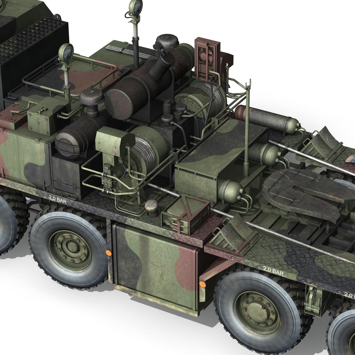faun stl-56 transportues tank 3d model 3ds fbx c4d lwo obj 201920