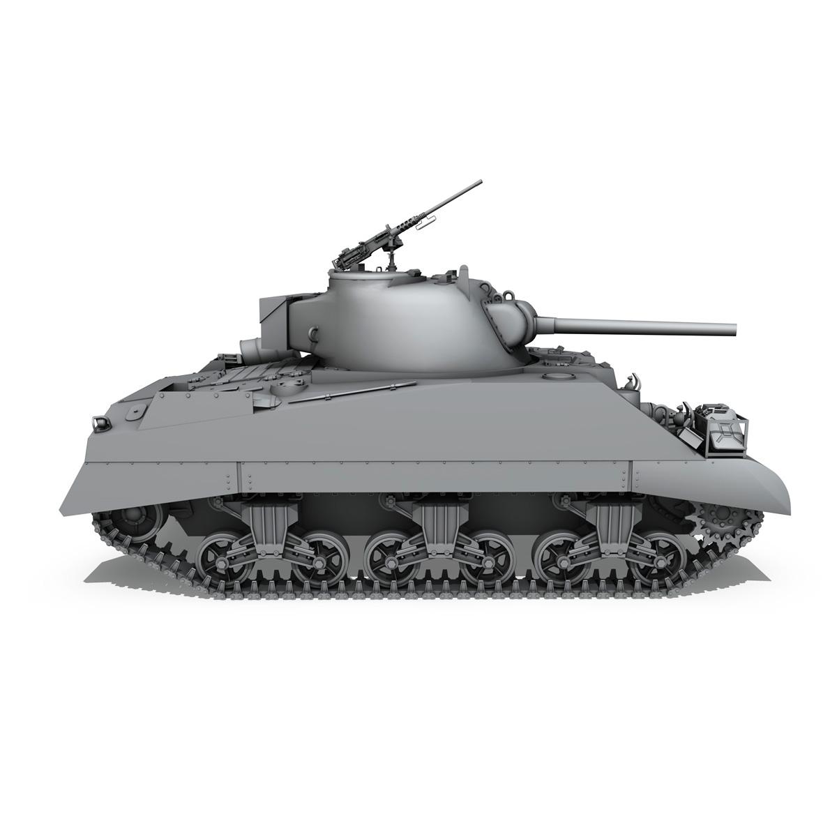 m4 sherman mk iii - britu armija 3d modelis 3ds fbx c4d lwo obj 201968