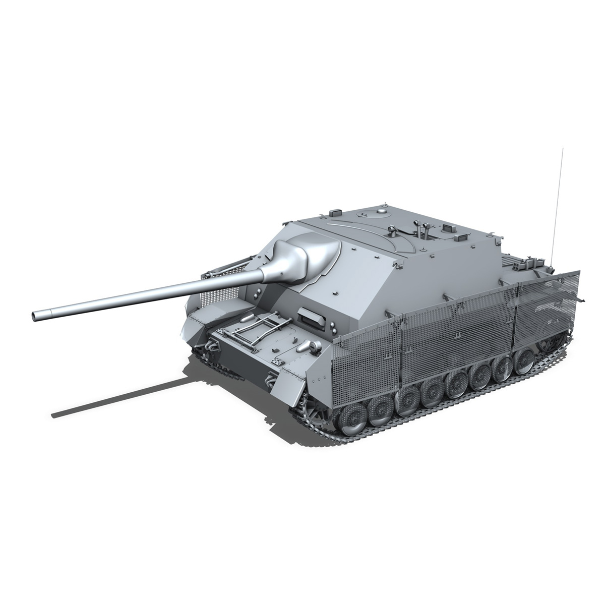 jagdpanzer iv l/70 (a) – sd.kfz 162/1 3d model 3ds fbx c4d lwo obj 202008