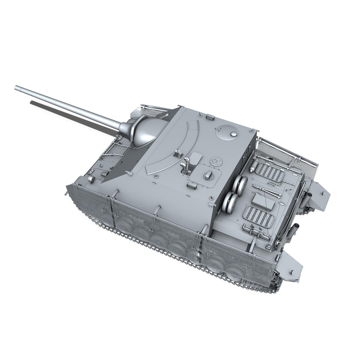 jagdpanzer iv l/70 (a) – sd.kfz 162/1 3d model 3ds fbx c4d lwo obj 202009