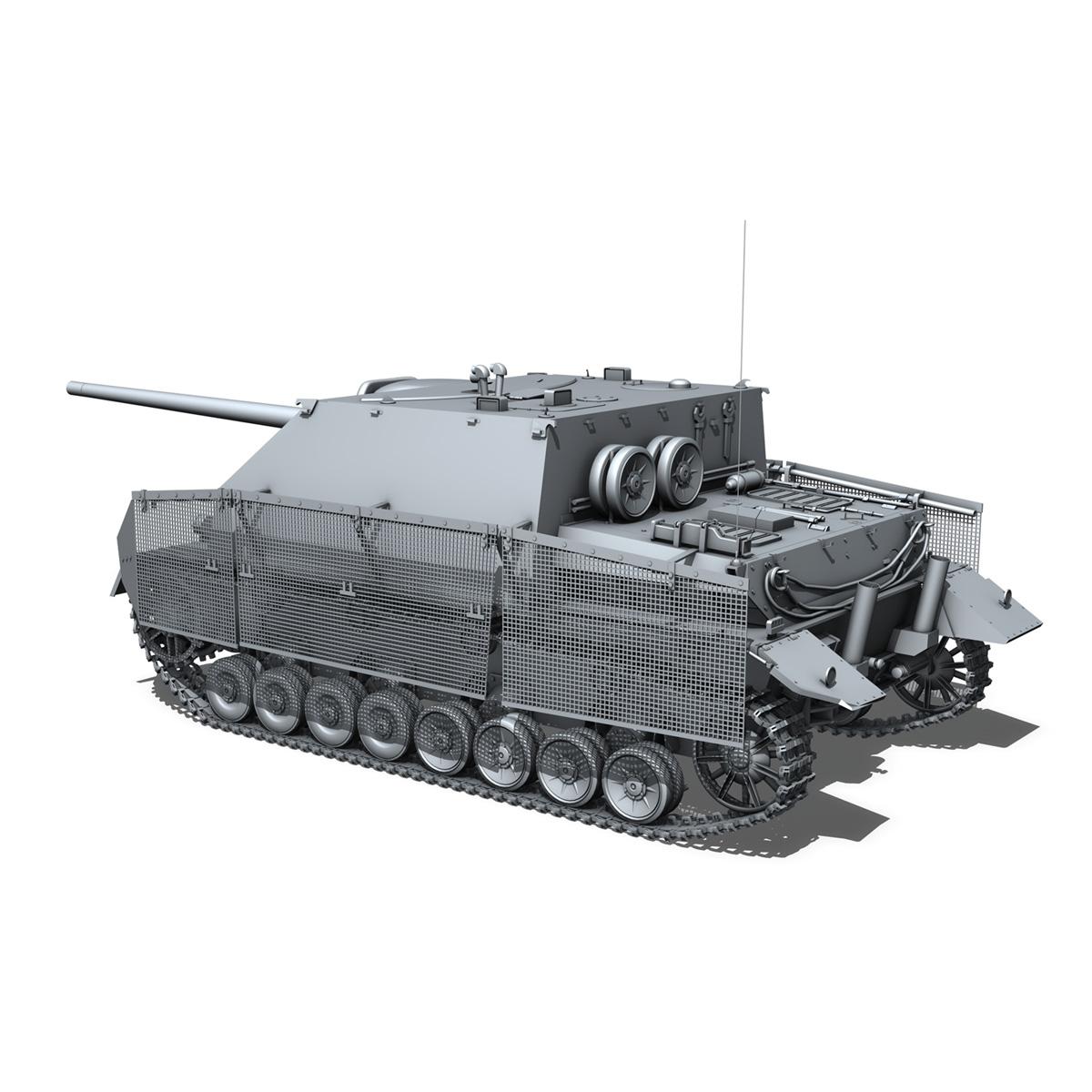 jagdpanzer iv l/70 (a) – sd.kfz 162/1 3d model 3ds fbx c4d lwo obj 202010