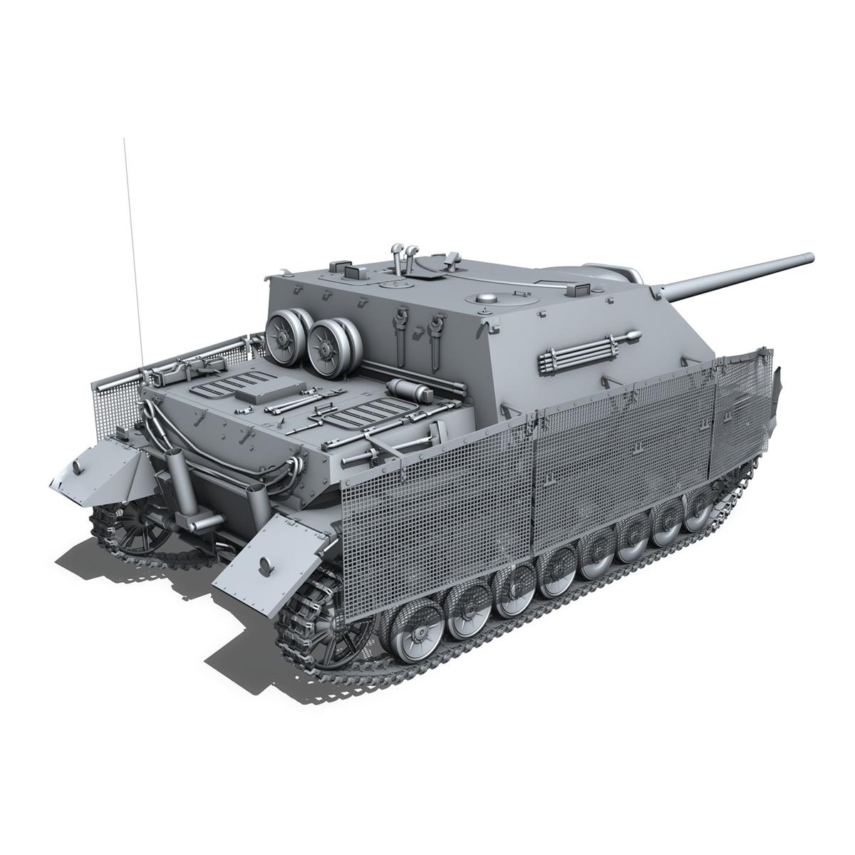 jagdpanzer iv l/70 (a) – sd.kfz 162/1 3d model 3ds fbx c4d lwo obj 202011