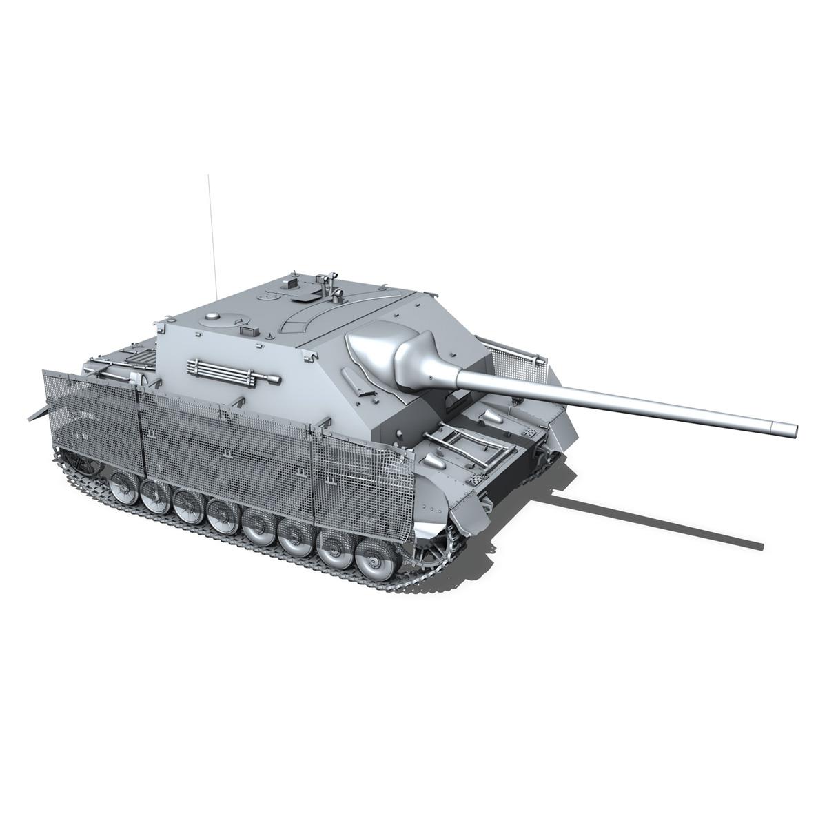 jagdpanzer iv l/70 (a) – sd.kfz 162/1 3d model 3ds fbx c4d lwo obj 202012