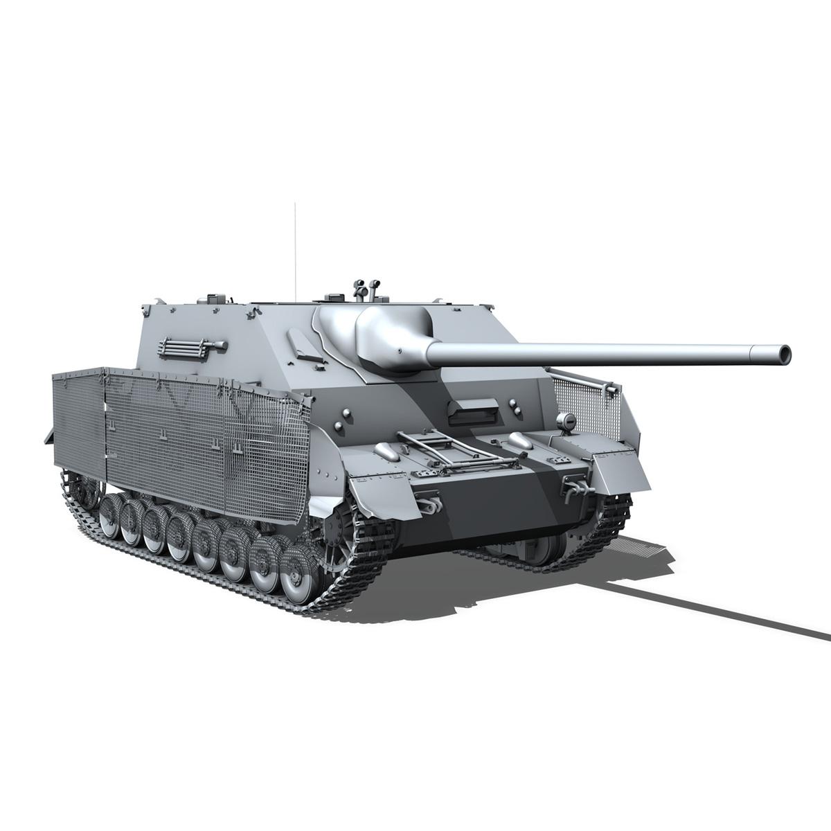 jagdpanzer iv l/70 (a) – sd.kfz 162/1 3d model 3ds fbx c4d lwo obj 202013