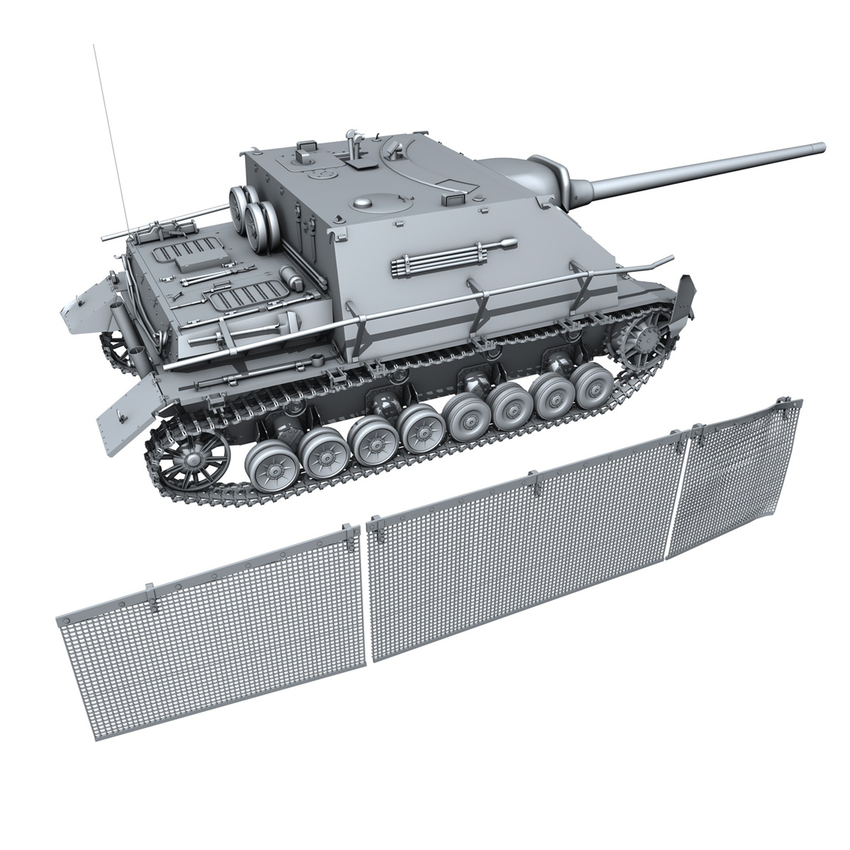 jagdpanzer iv l/70 (a) – sd.kfz 162/1 3d model 3ds fbx c4d lwo obj 202014