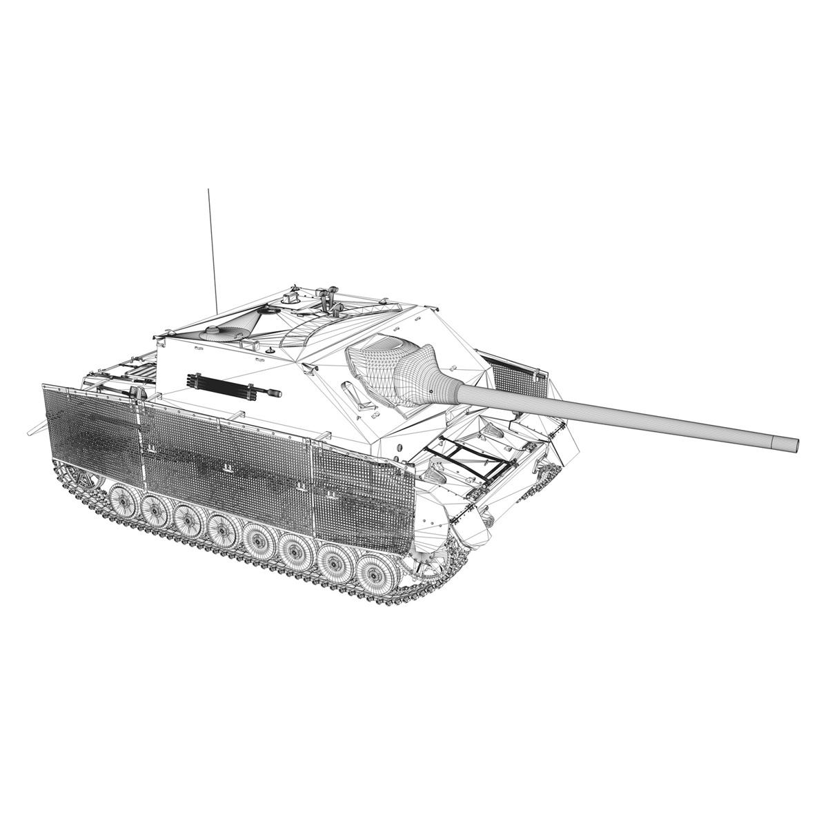 jagdpanzer iv l/70 (a) – sd.kfz 162/1 3d model 3ds fbx c4d lwo obj 202016