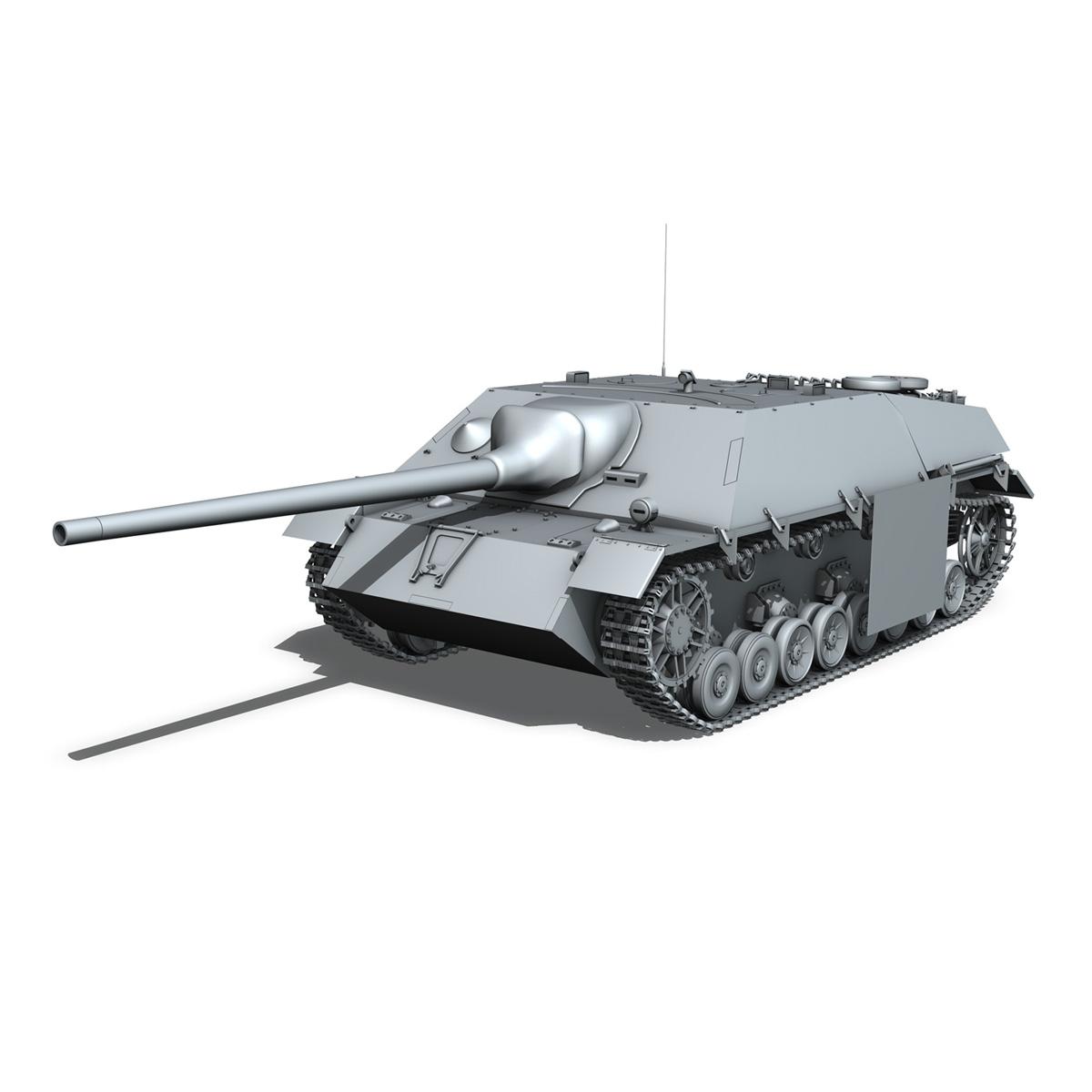 jagdpanzer iv l/70 (v) late production 3d model 3ds fbx c4d lwo obj 202019