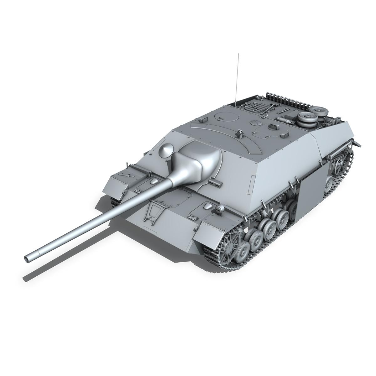 jagdpanzer iv l/70 (v) late production 3d model 3ds fbx c4d lwo obj 202020