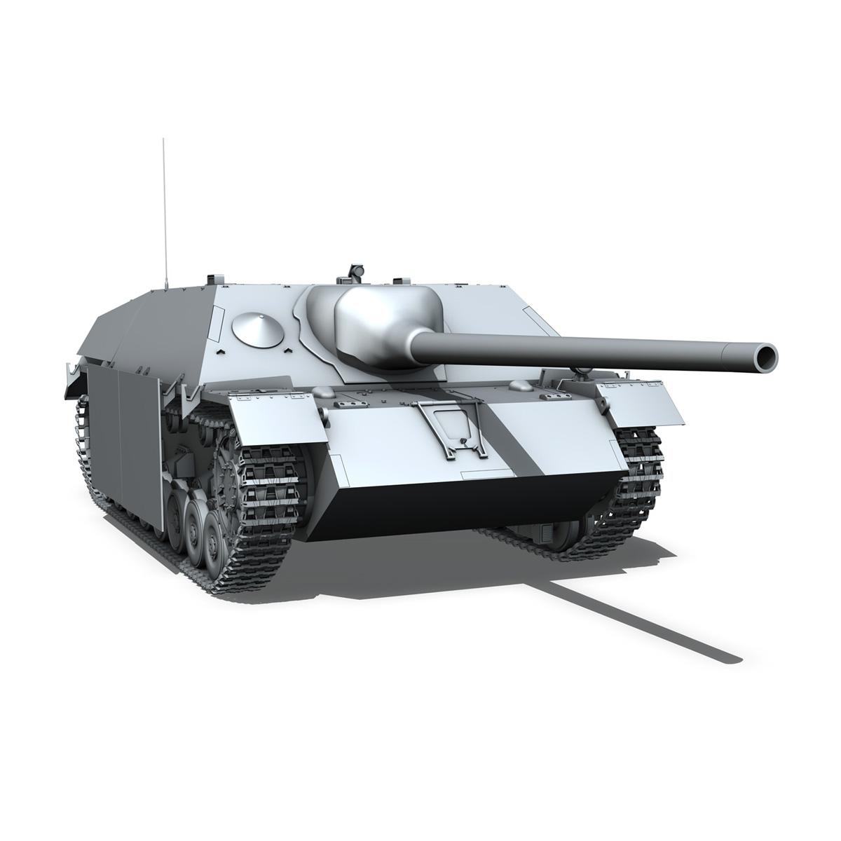 jagdpanzer iv l/70 (v) late production 3d model 3ds fbx c4d lwo obj 202025