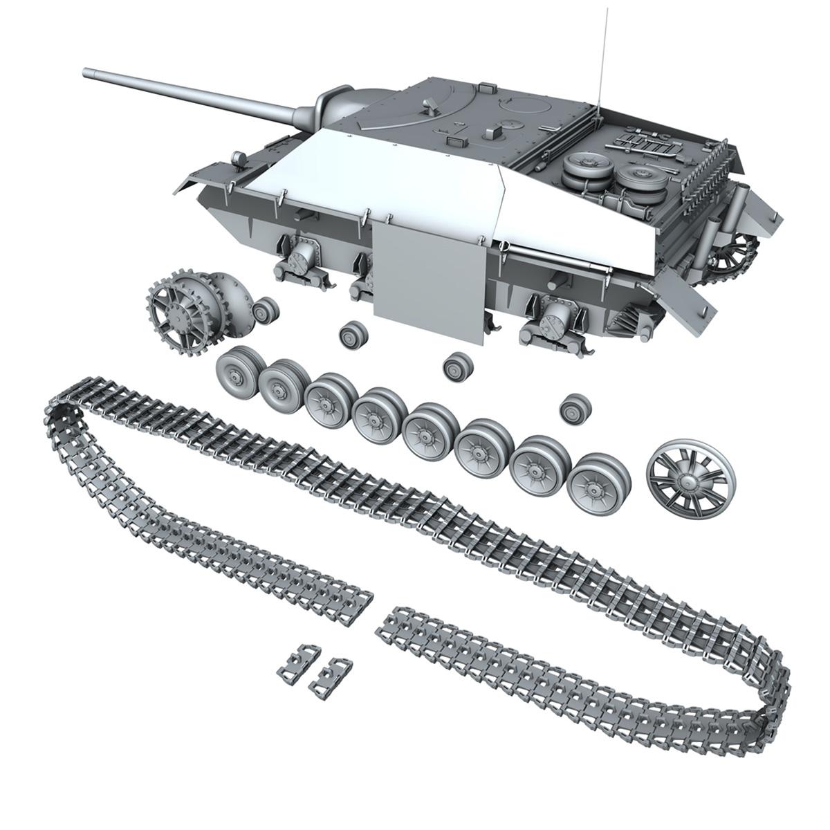 jagdpanzer iv l/70 (v) late production 3d model 3ds fbx c4d lwo obj 202026