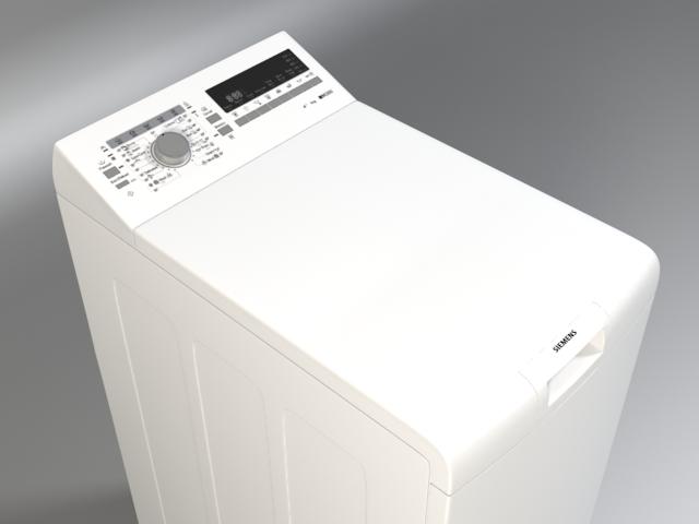 Washer Siemens Iq 300 Wp12t254by 3d Model
