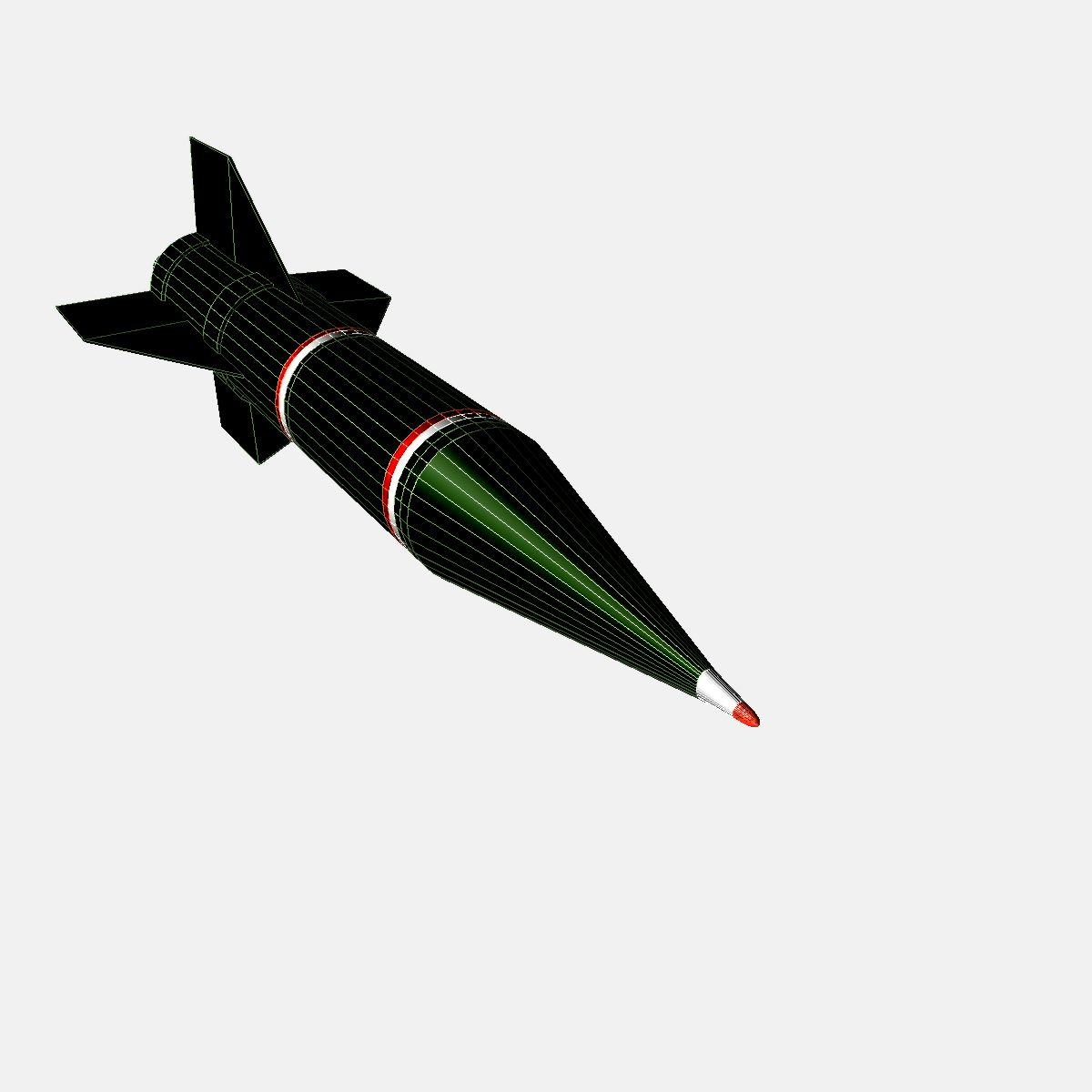 iranian shahin i 3d model 3ds dxf fbx blend cob dae x  obj 202190