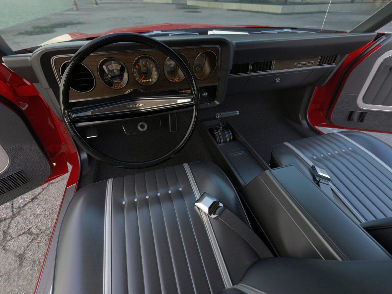 gran torino 1974 3d model 3ds max fbx c4d obj 202376