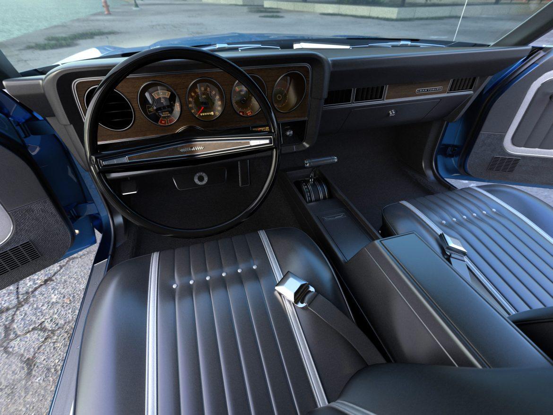 gran torino 1974 3d model 3ds max fbx c4d obj 202388