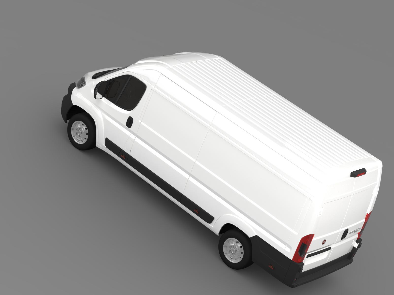 fiat ducato van l4h2 2015 3d model buy fiat ducato van l4h2 2015 3d model flatpyramid. Black Bedroom Furniture Sets. Home Design Ideas